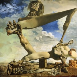 Salvador Dali Soft construction with boiled beans