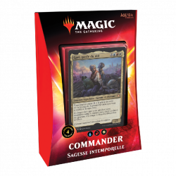 Magic The Gathering : Ikoria Deck Commander Sagesse Intemporelle
