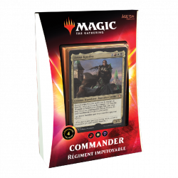 Magic The Gathering : Ikoria Deck Commander Régiment Impitoyable