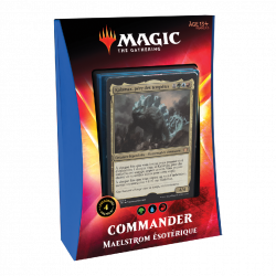 Magic The Gathering : Ikoria Deck Commander Maelstrom Esotérique