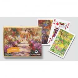 Cartes Monet 2 x 55