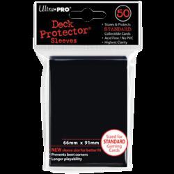 Étuis protège-cartes Ultra Pro 66 x 91 mm dos noir