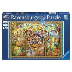 Puzzle 500 pièces Famille Disney