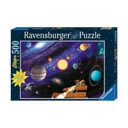 Puzzle 500 pièces Star Line : Le Système Solaire