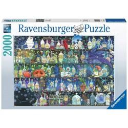 Puzzle 2000 pièces L'Etagère à Potions