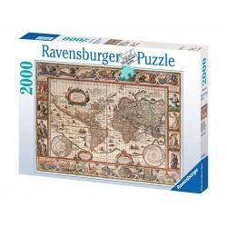 Puzzle 2000 pièces Mappemonde 1650