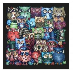 Puzzle Palapeli Owls