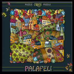 Puzzle Palapeli Mountain village