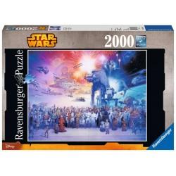 Puzzle 2000 pièces Mes Timbres Disney Préférés