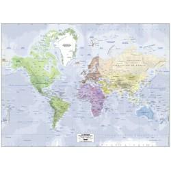 Puzzle 500 pièces Carte du monde