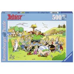 Puzzle 500 pièces : Astérix au village