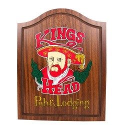 Armoire à cible KINGS HEAD colorée