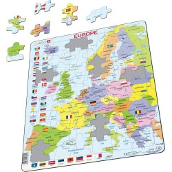 Europe et les drapeaux
