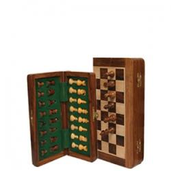 Jeu d'échecs magnétique pliant 'Indian 17'