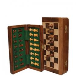 Jeu d'échecs magnétique pliant 'Indian 30'