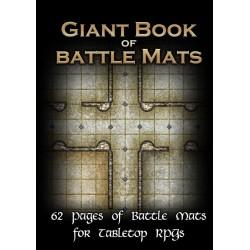Livre plateau de jeu - GIANT Book of Battle Mats (taille A3)