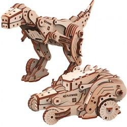 Mr. Playwood - la Dinocar