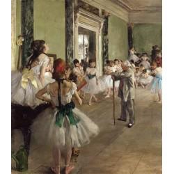 Edgar Degas : la classe de dance