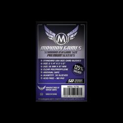 Étuis protège-cartes (sleeves) Mayday 56x87mm premium (paquet de 50)