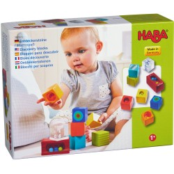 cube jouet monde arc-en-ciel