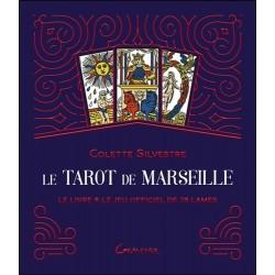 Le Tarot de Marseille coffret livre et jeu officiel de 78 lames
