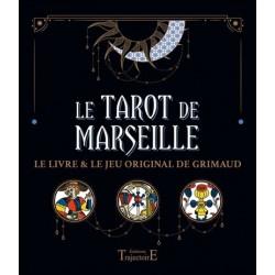 Le Tarot de Marseille coffret livre et jeu original de Grimaud