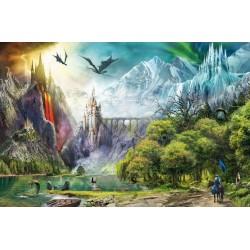 Puzzle 3000 pièces Règne des dragons