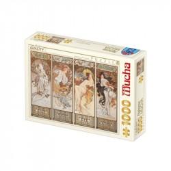Alphonse Mucha 2 x 54 cartes