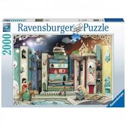 Puzzle 2000 pièces Magnifique monde animal
