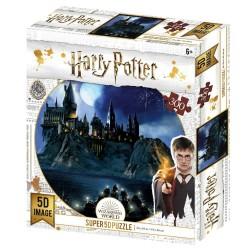Puzzle Harry Potter effet 3D - Poudlard