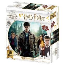 Puzzle Harry Potter effet 3D - Harry, Hermione et Ron