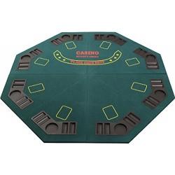 Plateau de poker Octogonal