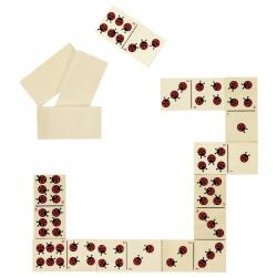 Jeu de dominos Coccinelles