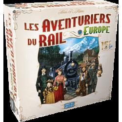 Aventuriers du Rail Europe édition 15ème Anniversaire