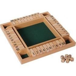 Fermer la boite 4 joueurs / Shut the box