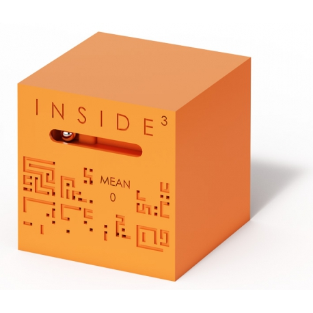 Inside Cube orange Mean