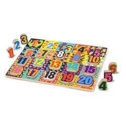 Chunky Puzzle : les Nombres