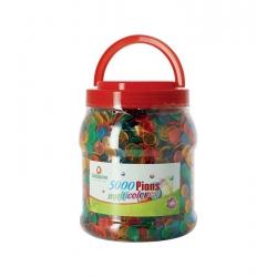 LOTO 5000 pions multicolores