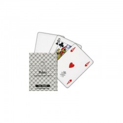 cartes poker torcello 100% PVC BLANCHE