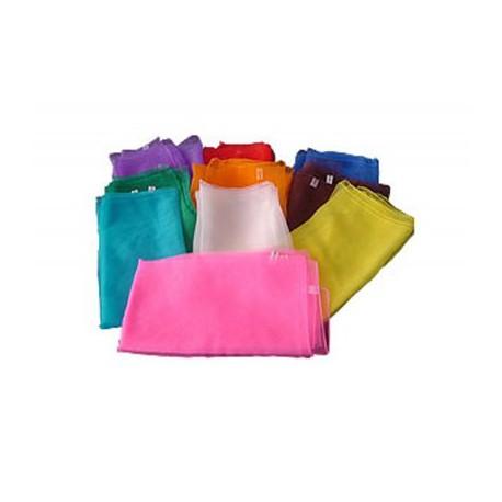 foulards de jonglage 60 x 60 cm