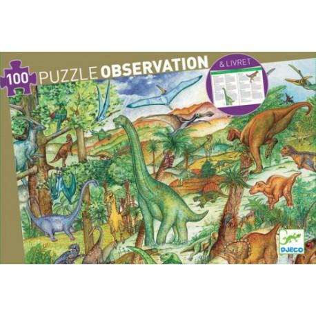 Puzzle d'observation : les Dinosaures