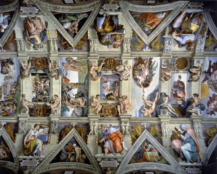 Puzzle Wentworth Plafond De La Chapelle Sixtine Detail Au