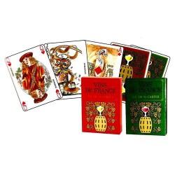 Vin de france jeu de 54 cartes