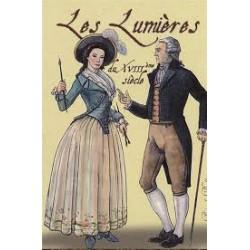 Les Lumières du XVIIIÈME Siècle jeu de 54 cartes