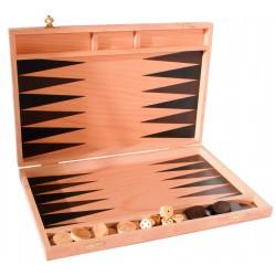 backgammon en bois (35 cm)