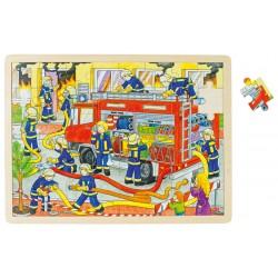 Puzzle brigade de pompiers