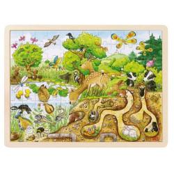 Puzzle découverte de la nature