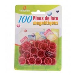 100 PIONS MAGNÉTIQUE POUR BÂTON DE LOTO