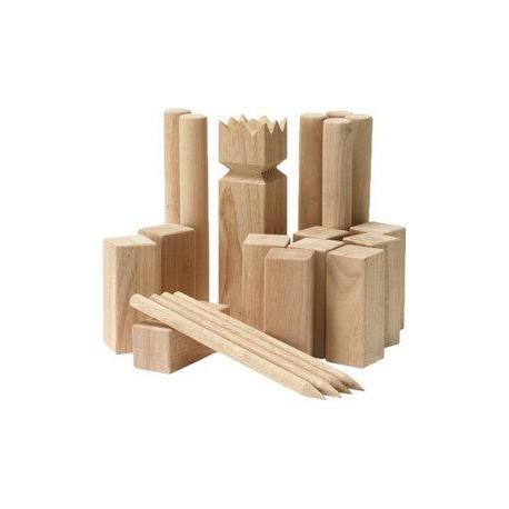 jeu de Kubb en bois