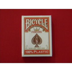 cartes bicycle 100% pvc